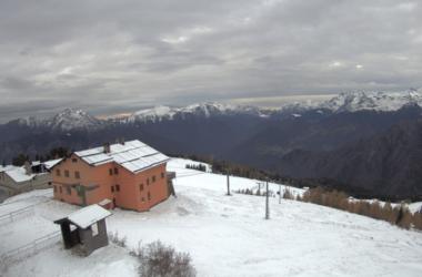 Web CamVista dalla cima Rifugio Torcole 2000 - Torcola Soliva 1.850 m - Piazzatorre