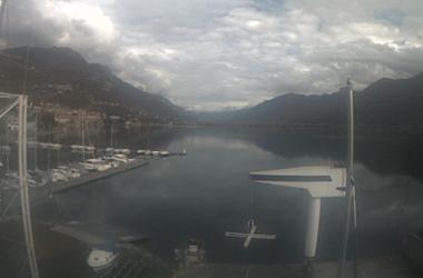 Web Cam Lovere Vista lago zona porto