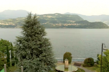 Web Cam Veduta Lago d'Iseo a Tavernola Bergamasca
